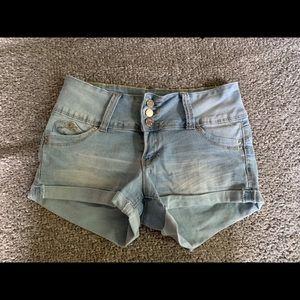 Ymi super comfortable jean shorts